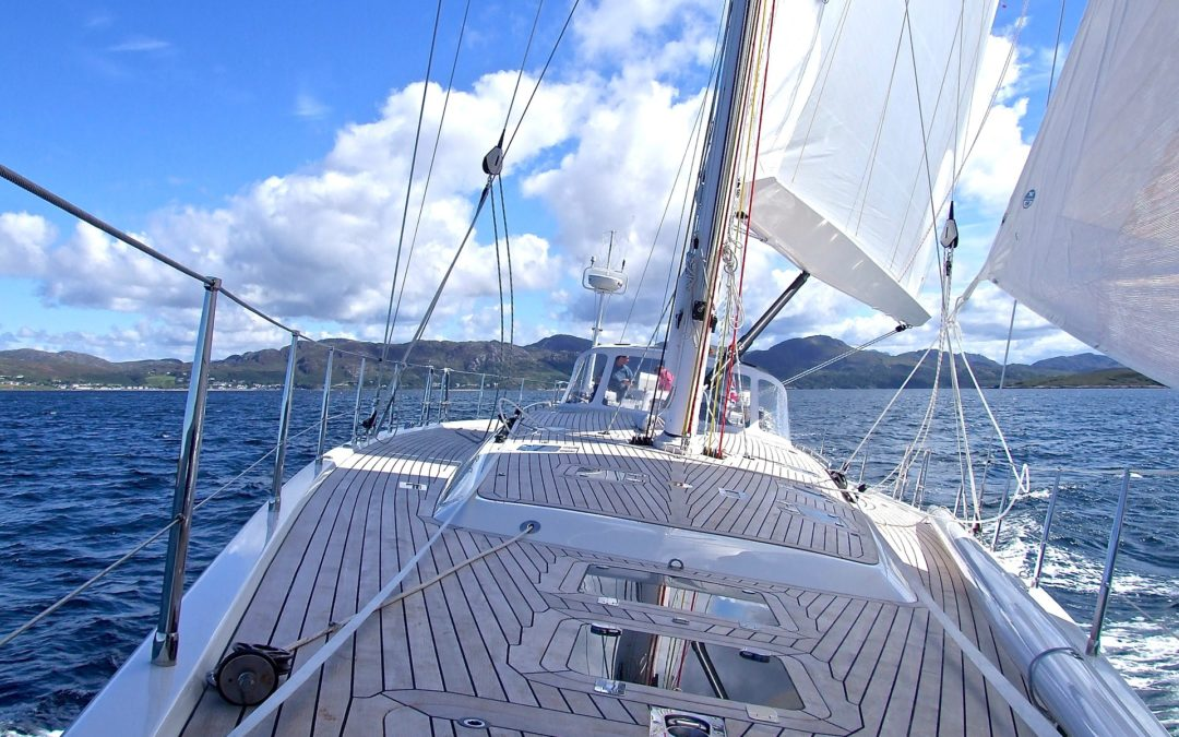 Travailler sur un bateau – le titre m'a fait rêver !